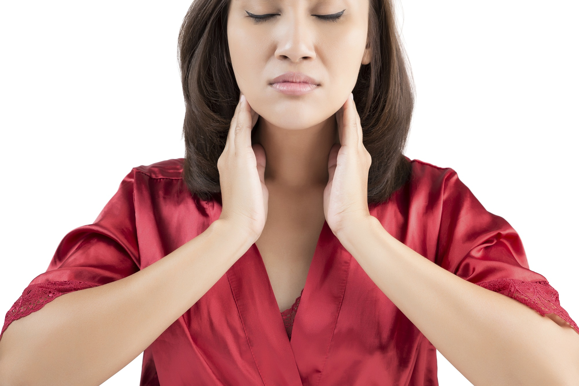 sore throat woman, Peak ENT and Voice Center, Denver Voice Clinic, Denver ENT, Colorado ENT, Denver hearing specialists, colorado ent doctor, ent rhinoplasty specialist, Peak ENT, vocal cord dysfunction
