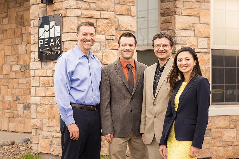 Peak ENT and Voice Center, Denver Voice Clinic, Denver ENT, Colorado ENT, Denver hearing specialists, colorado ent doctor, ent rhinoplasty specialist, Peak ENT, vocal cord dysfunction, peak ent doctors